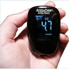 Glycomètre de Accu-check gratuit !!