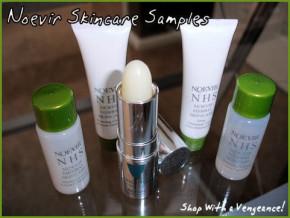 Recevez vos échantillons gratuits des produis de beauté noevir  !!
