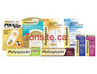 Économisez des produit POLYSPORIN®