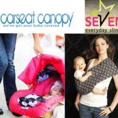 Elingues GRATUITES pour porter vos bébés en toute sécurité + couverture pour son siège-auto