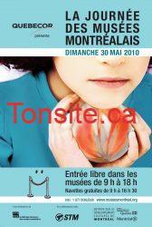 GRATUIT : Ne manquez pas la journée des musées montréalais !