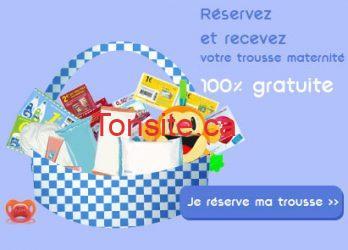 Réservez dès maintenant votre trousse maternité cadeauxbebe.com, 100 % gratuite