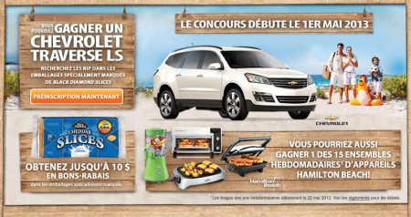 concours black diamond gagnez une voiture chevrolet gratuite. Black Bedroom Furniture Sets. Home Design Ideas