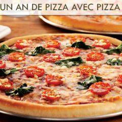 Gagnez un an de pizza avec Pizza Delight