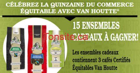 Gagnez un des 15 ensembles Van Houtte
