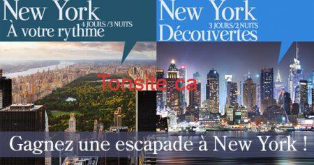 Gagnez une escapade à New York
