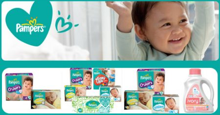 Quatre super coupons Pampers