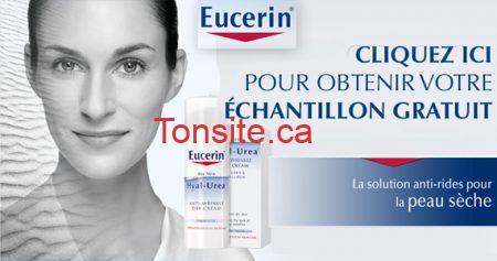 Échantillon de crème Eucerin