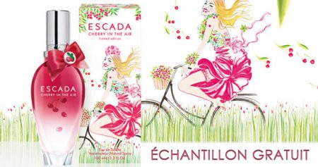 Échantillon ESCADA Cherry in the Air