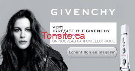 Échantillon de parfum Givenchy Electric Rose à la Baie