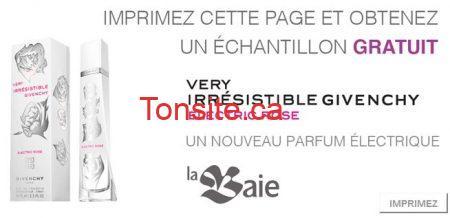 Demandez votre échantillon GRATUIT de parfum Very Irresistible de Givenchy !