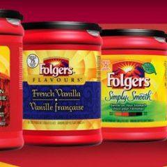Folgers : un produit pour le petit-déjeuner GRATUIT !