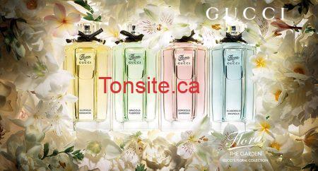 Échantillon de la fragrance Flora de Gucci