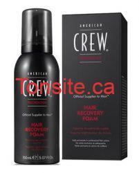 Échantillon gratuit du produit American Crew pour faire repousser les cheveux !!