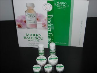 Obtenez vos échantillons GRATUITS de soin de peau Mario Badescu!