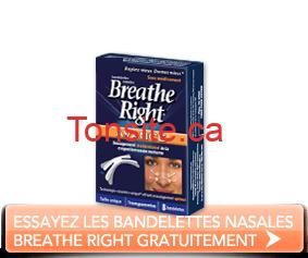 splashproductshotf - Essayez gratuitement les bandelettes nasales Breathe Right