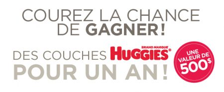 0 4 june huggies big f -  Gagner un an de couches Huggies d'une valeur de 500$!