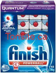 SmartSource : plusieurs coupons rabais pour les produits FINISH!