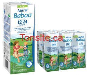Essai gratuit du lait Natrel Baboo !