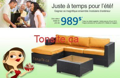 Gagnez un mobilier de jardin Brault & Martineau !