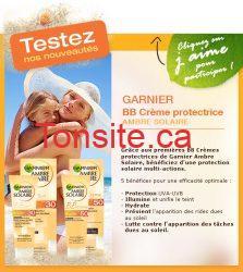 Testez GRATUITEMENT la BB Crème Ambre Solaire de Garnier!