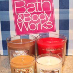 Bougie gratuit à Bath & Body Works avec 10 $ d'achat!