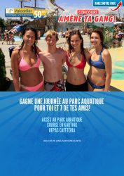 Concours Village Valcartier : gagnez une journée au parc aquatique!