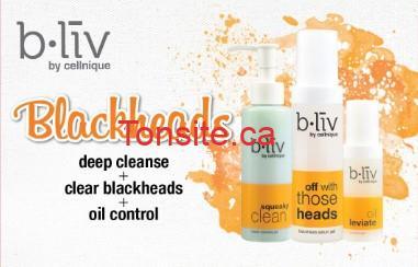 Echantillons gratuits de soins de la peau B-Liv