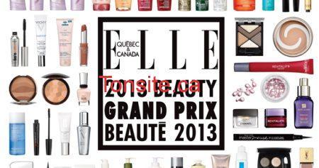 Gagnez le grand prix beauté 2013