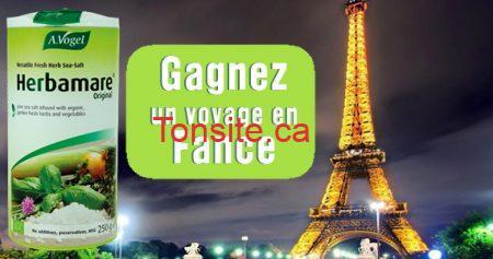 Gagnez un voyage en France avec Herbamare