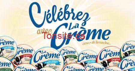 Gagnez un an de fromage La Crème !