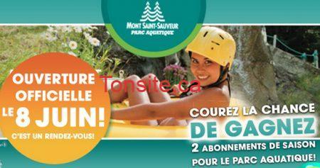 Gagnez 2 passes de saison parc aquatique !