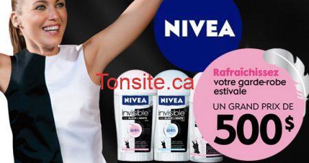 concours nivea garde robe 570 - Gagnez un nouveau look avec Nivea !