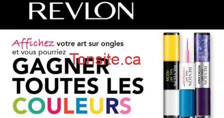 Gagnez toutes les couleurs Revlon !