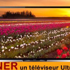 Gagnez un super téléviseur Sony 4K !!