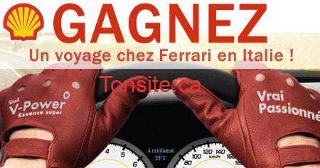 Gagnez un voyage en Italie et 3 000 $ d'essence Shell !!