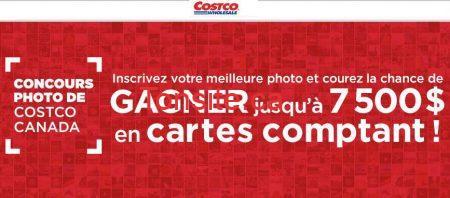 Concours Costco : gagnez jusqu'à 7 500$ en cartes comptant!