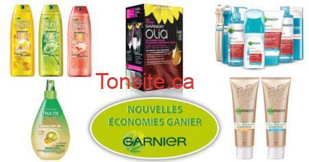 Nouvelles économies de Garnier !