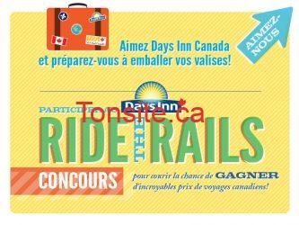 Concours Days Inn Canada : gagnez plein de voyages Canadiens!