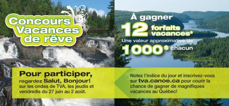 header2013 785x363 - 12 forfaits vacances au Québec de 1000$ chacun a gagner !