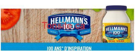 Coupon rabais pour la mayonnaise Hellmann's!