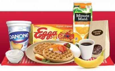 Petit-déjeuner gratuit à l'achat des céréales Kellogg's