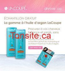 Échantillon GRATUIT de la gamme à l'huile d'argan LaCoupe