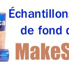 Echantillons Gratuits de fond de teint MakeSense !