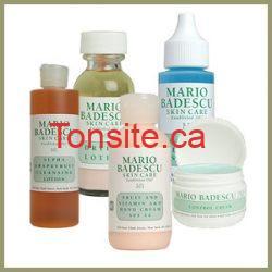 Échantillons gratuits de soins de la peau Mario Badescu !!