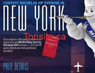 Concours Michelin : gagnez une soirée VIP à New York!