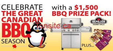 Gagnez un ensemble BBQ de 1500$ !