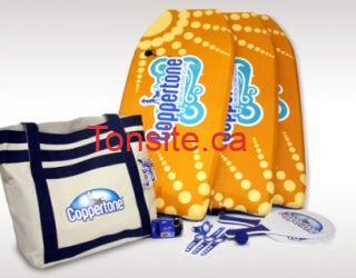package coppertone - Concours Coppertone : gagnez un sac cadeau « Profitez du beau temps »!