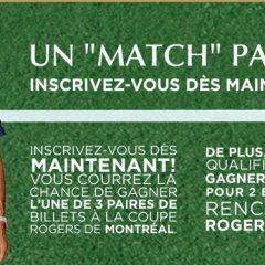 Gagner un voyage en Suisse pour rencontrer Roger Federer!