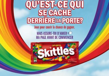 Gagner instantanément des supers prix avec Skittles!